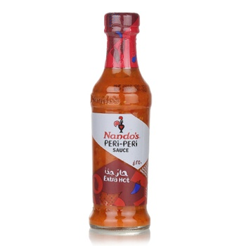 Nandos Extra Hot Peri Peri Sauce 250ml