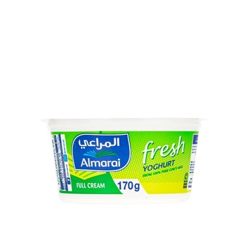 Almarai Fresh Yoghurt Full Cream 170g