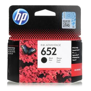 HP Cartridge - 652  BLACK