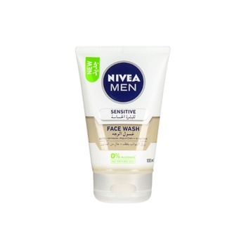 NIVEA MEN Sensitive Face Wash with Zero Percent Alcohol 100ml