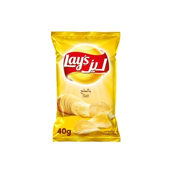 Lays Potato Chips Salted 40g