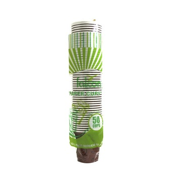 Falcon Paper Cups With Handle 50pcs