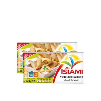 Al Islami Vegetable Samosa 2 x 240g @ Special Price