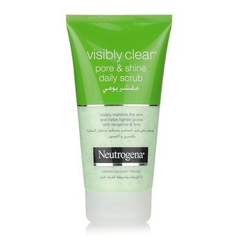 Neutrogena Visibly Clear Pore And Shine Facial Scrub 150 ml