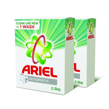 Ariel Detergent Original Front Loading 2.5kg Pack Of 2