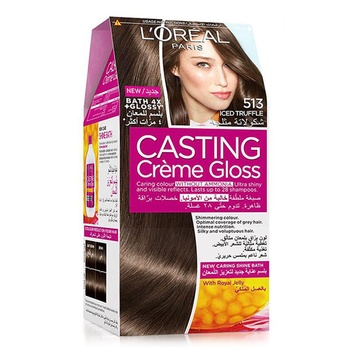 L'Oreal Paris Casting Creme Gloss Hair Color 513 Iced Truffle