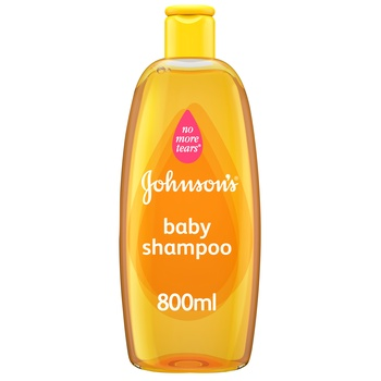 Johnsons Baby Shampoo 800ml