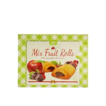 Klas Mini Rolls Mixed Fruit 300g