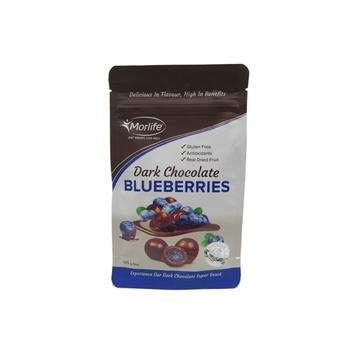 Morlife Dark Chocolate Coated Blueberries 125g