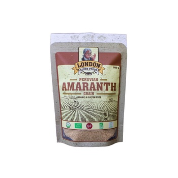 London Super Foods Organic Gluten Free Amaranth Grais 500g