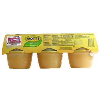 Mott's apple sauce 4oz