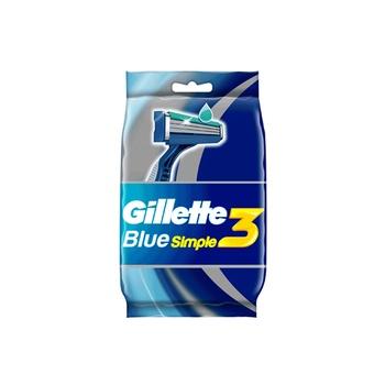 Gillette Blue Simple3 Men's Disposable Razors, 8 Count