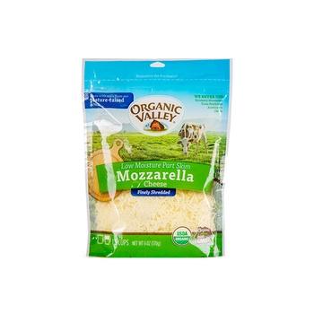 Organic Valley Cheese Shreded Mozarella 6Oz