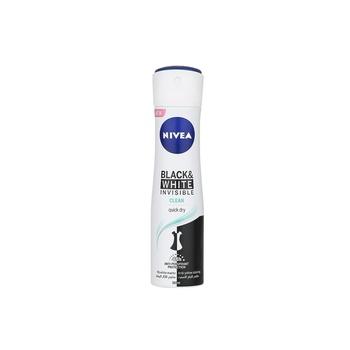Nivea Deo Spray Black & White Clean for Women 150ml
