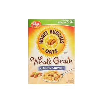 Post Honey Bunches Of Oats Wholegrain Almond Crunch 18 oz
