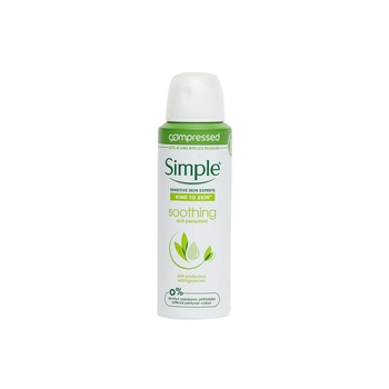 Simple Deo Spray Soothing 125ml