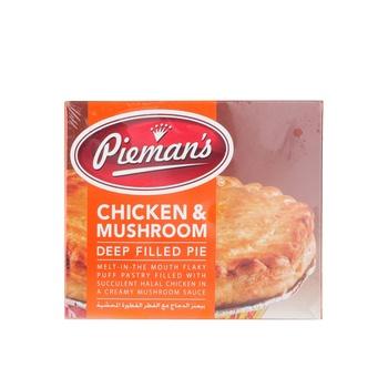 Admirals Chicken & Mushroom Pie 185g