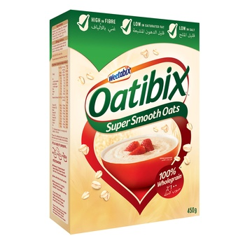 Weetabix Oatibix Smooth Oats 450g