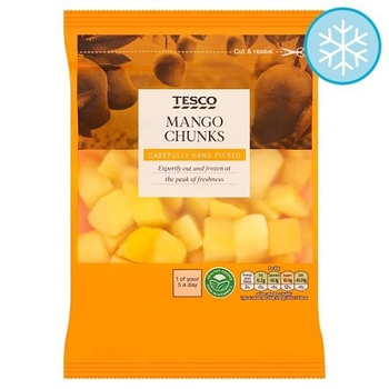 Tesco Mango Chunks 500g