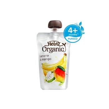 Heinz Original Banana Mango Pouch 120g