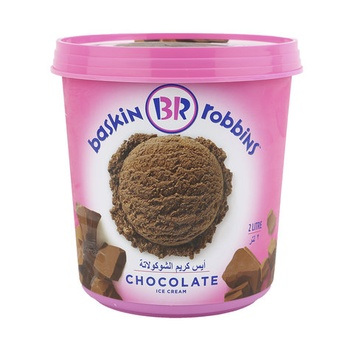 Baskin Robbins Chocolate Ice Cream 2ltr