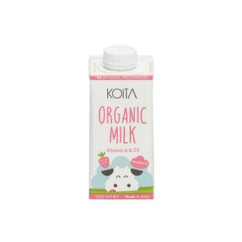 Koita Organic Strawberry Milk 1L