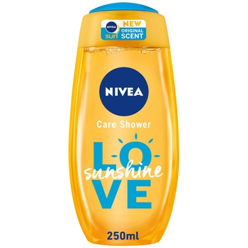 Nivea Shower Sunshine Love 250ml