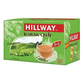 Hillway 3 In 1 Karak Chai Cardamom 18g