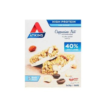 Atkins Cappuccino Nut 5X30g