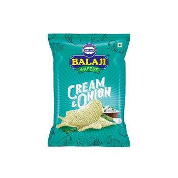 Balaji Cream & Onion Chips 135g