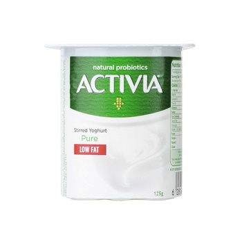 Activia Plain Yog Low Fat 125g