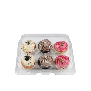 Vienan Bakery Assorted Mini Cup Cakes 6 Pcs