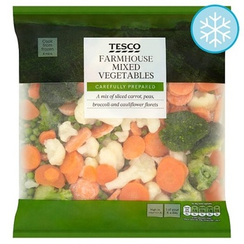 Tesco Farmhouse Mixed Vegetables 1kg