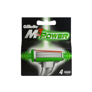 Gillette Mach 3 Power Cartridge 1 X 4 pcs