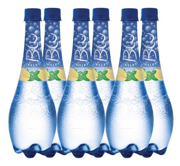 Oasis Blu Sparkling Water Lemon & Mint 6 x 450ml