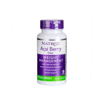 Natrol AcaiBerry diet green tea loss up to 9.1kg in 10 weeks 60 fast