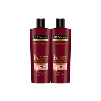 Tresemme Keratin Smooth Shampoo With Argan Oil 400ml Pack Of 2