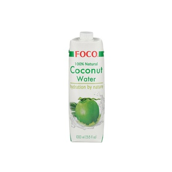 Foco Uht Coconut Water Original 1000ml