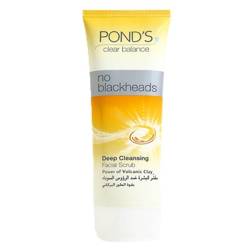 Ponds Deep Cleansing Facial Scrub No Blackheads 100g