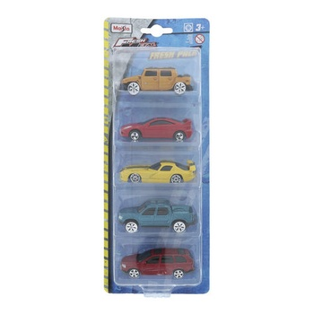 Maisto Metal Die Cast Car- 5pcs Pack