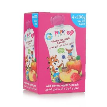 Hipp Peach,Apple,Blueberry & Raspberry