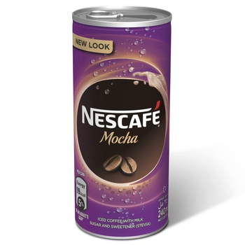 Nescafe Ready To Drink Mocha Chilled Coffee 240ml