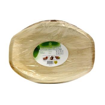 Aryan Bioplate 36 Cm Oval Shape 10pcs