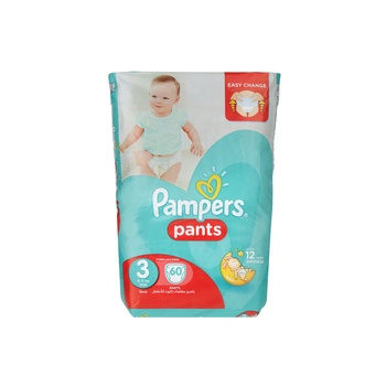 Pampers Pants Diapers Size 3 Midi 6-11kg Jumbo Pack 60 Count