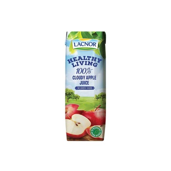Lacnor Long Life Healthy Living Cloudy Apple 250 ml