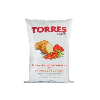 Torres Hot Smoke Paprika Potato Chips 150g
