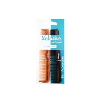 Xcluzive Twin Pack Pocket Comb