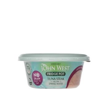 John West Tuna Steak With Spring Water No Drain 110g