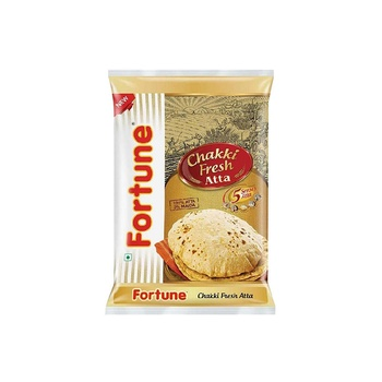 Fortune Chakki Fresh Atta 5 kg Poly Bag