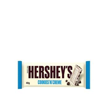 Hershey's Bars Cookies N Creme 40g